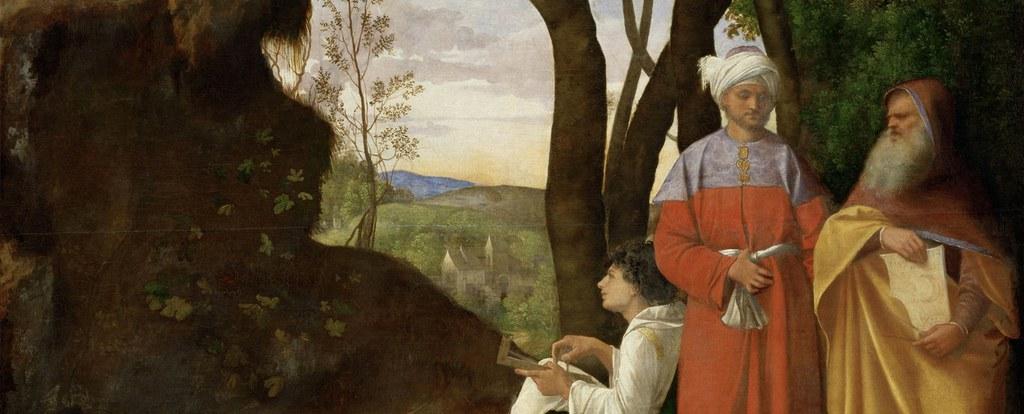 Giorgione - i tre filosofi