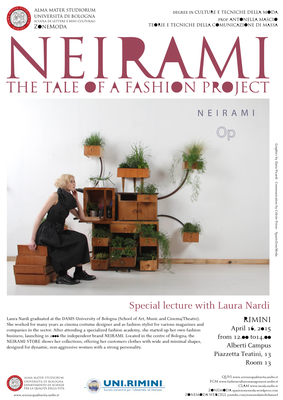 """Special Lecture with Laura Nardi: """"Neirami. The Tale of a ..."""