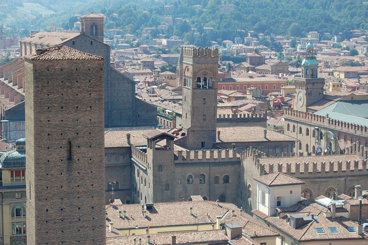 Towers of old Bologna
