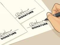 * properly signed