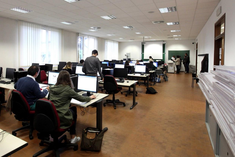 Il laboratorio informatico presso il Teaching hub