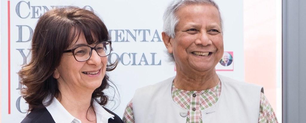 Yunus Muhammad a Forlì: 18 aprile 2018 una giornata con il Nobel per la Pace