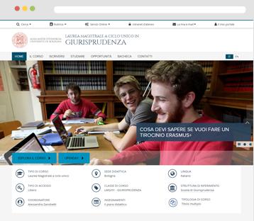 Nuovo sito del Corso — Giurisprudenza - Laurea Magistrale ...